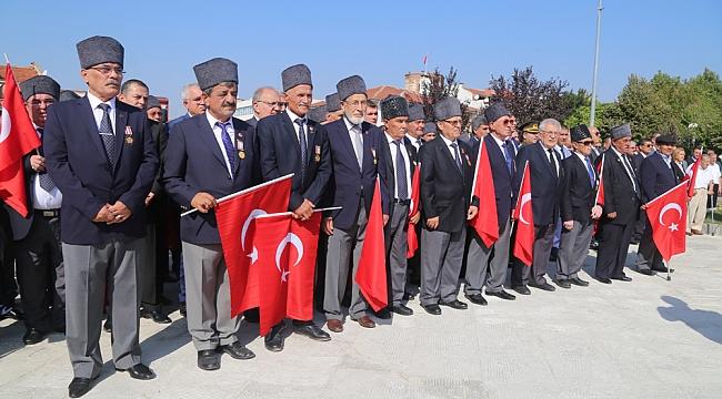 EDİRNE'DE 19 EYLÜL GAZİLER GÜNÜ KUTLANDI