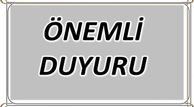 TEBLİGAT KANUNU'NA İSTİNADEN POSTA İADESİ