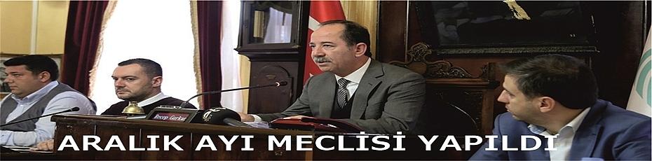ARALIK AYI MECLİSİ YAPILDI
