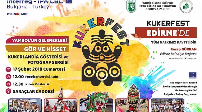 KUKERFEST EDİRNE'DE