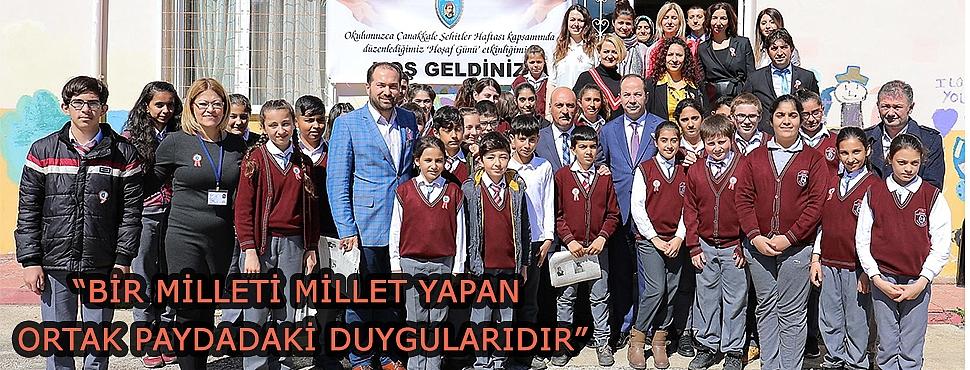 """""""BİR MİLLETİ MİLLET YAPAN ORTAK PAYDADAKİ DUYGULARIDIR"""""""