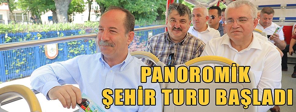 PANOROMİK ŞEHİR TURU BAŞLADI