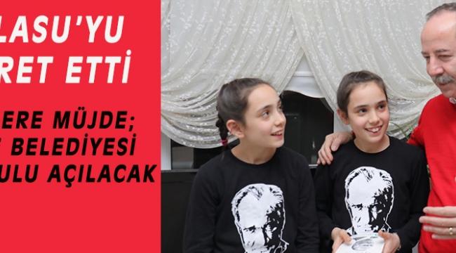 GÜRKAN, DAMLASU'YU ZİYARET ETTİ