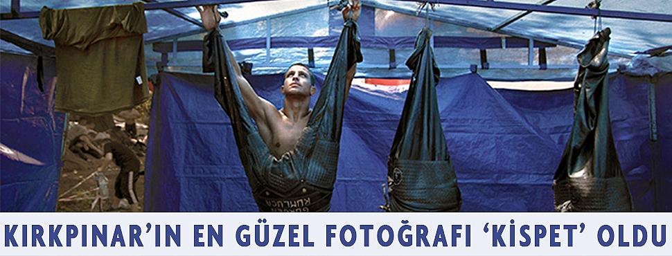 KIRKPINAR'IN EN GÜZEL FOTOĞRAFI 'KİSPET' OLDU