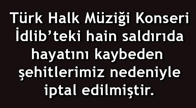 İPTAL EDİLDİ