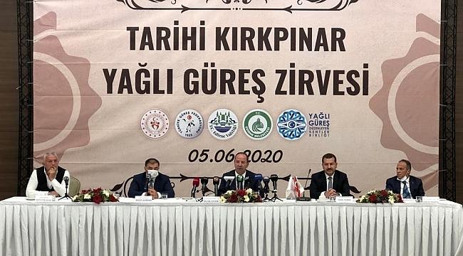 KIRKPINAR'A 'KORONA' ERTELEMESİ