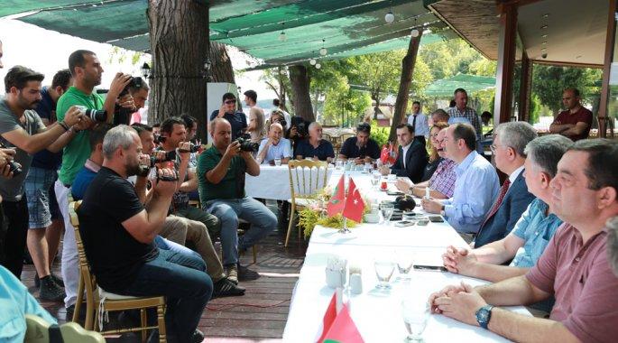 BAŞKAN GÜRKAN, KIRKPINAR'I DEĞERLENDİRDİ