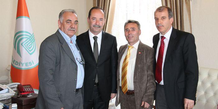 İstanbul Trakyalılar Derneği,Başkan Gürkan'ı ziyaret etti