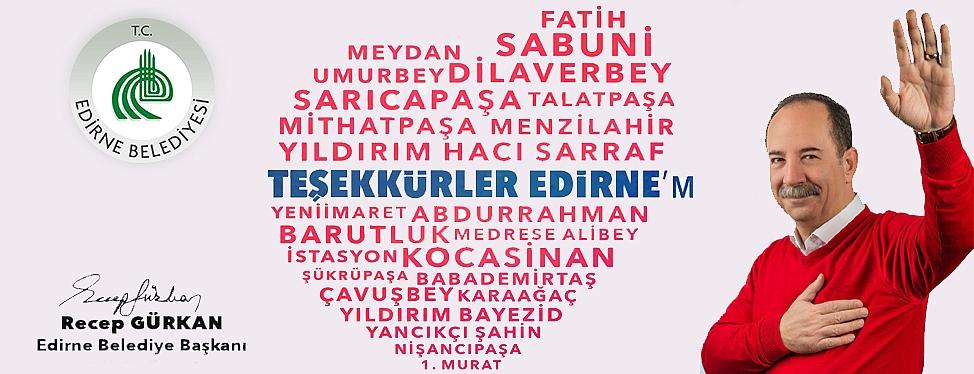 Teşekkürler Edirne'm